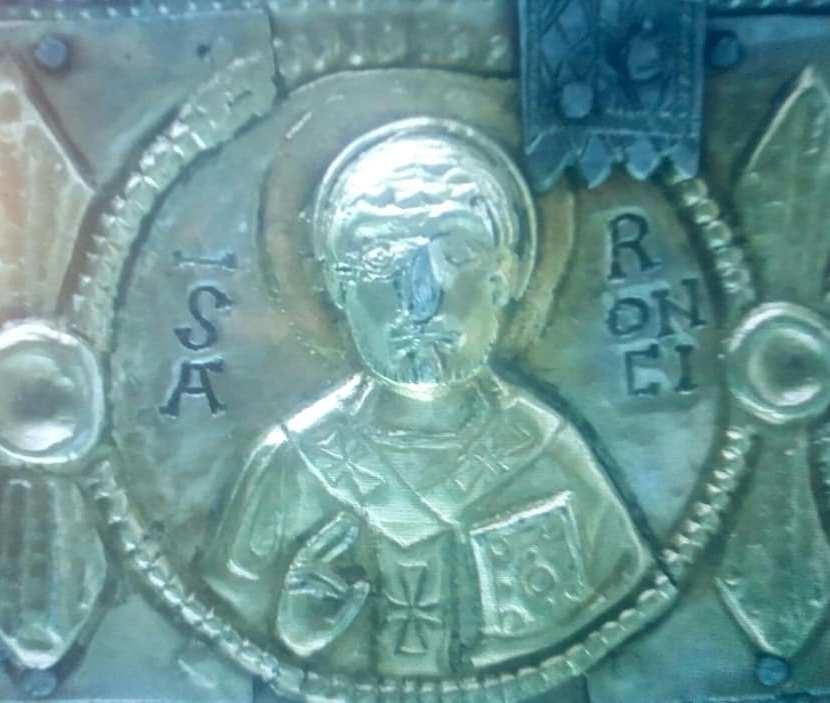 Quella che potrebbe essere la più antica immagine di santOronzo