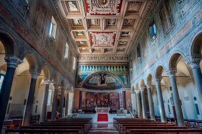 Giuseppe Sapori Santa Maria in Domnica Basilica