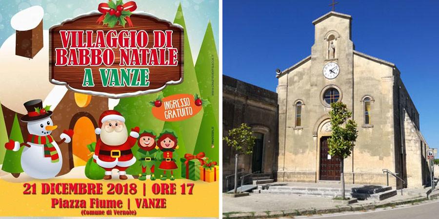 Babbo Natale 7 Cervelli.A Vanze Arriva In Piazza Fiume Il Villaggio Di Babbo Natale
