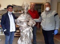 Trasferimento statua Ostuni per restauro 3