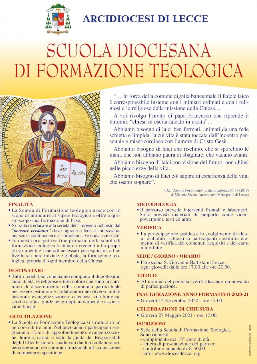 sslocandina formazione teologica 2020 2